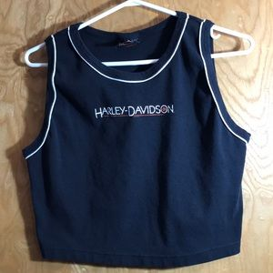 Harley Davidson WYOMING Crop Top